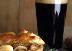 Beef and Guiness pie