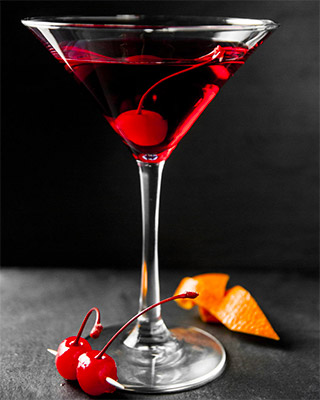 Cherry Martini cocktail