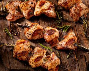 Chicken Rosemary Skewers
