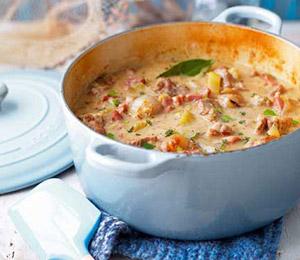 Normandy pork casserole