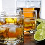 Whiskey mac cocktail