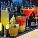 Diferent cocktail glasses