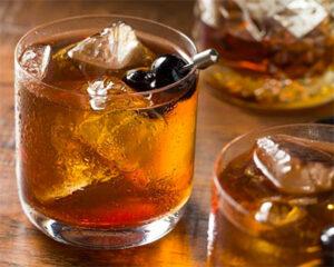 Dry Brandy Manhattan cocktail